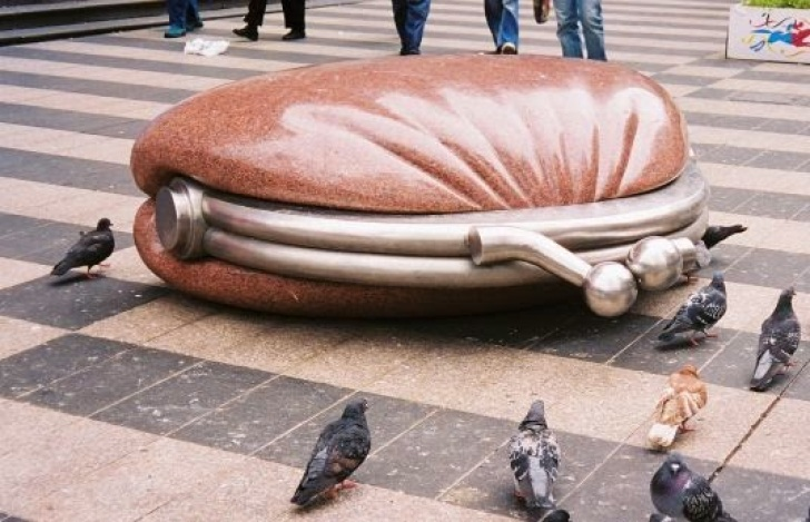 MelbourneSculpturePurse