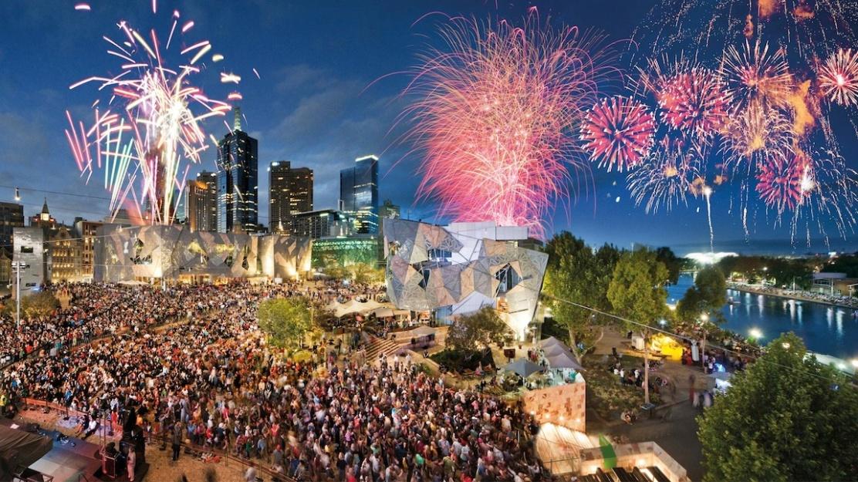 Resultado de imagem para passagem de ano+Melbourne